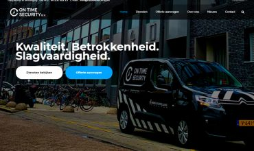 On Time Security | Onze nieuwe website is live