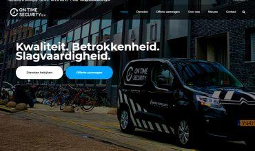 On Time Security | Onze nieuwe website is live